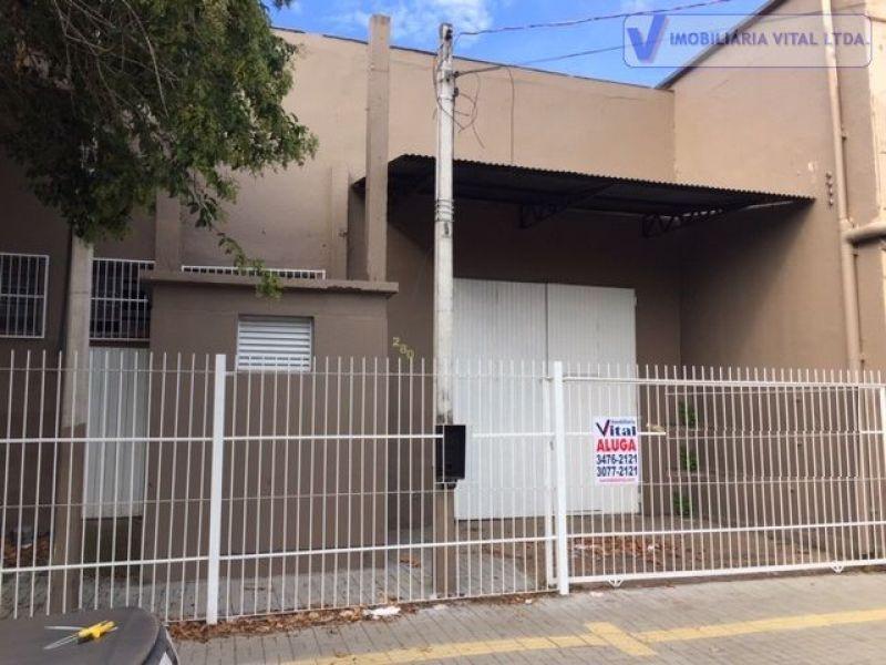Pavilhão 1 quarto no bairro HARMONIA em CANOAS